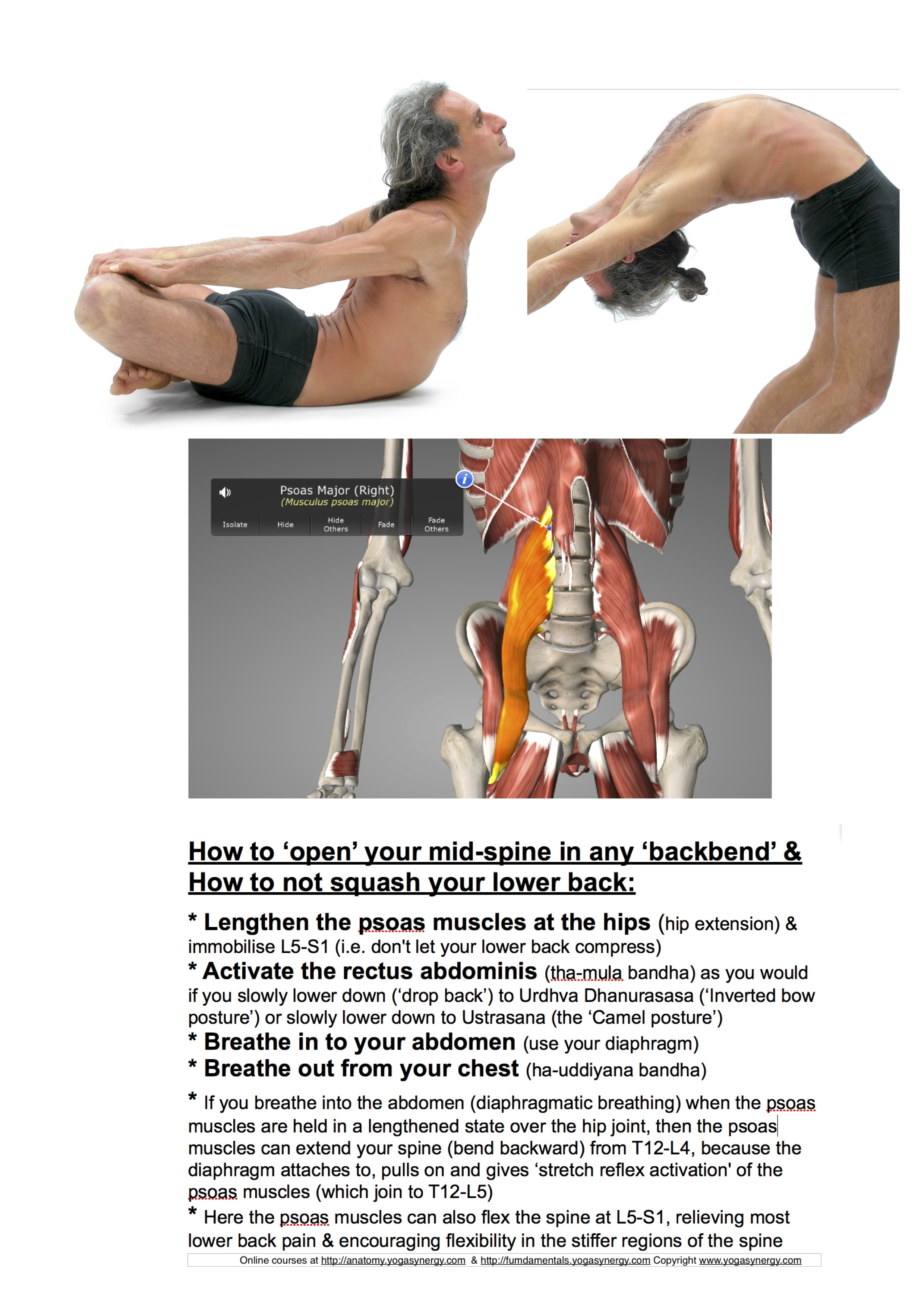 How To Relieve Back Pain And Bend Backwards Without Hurting Your